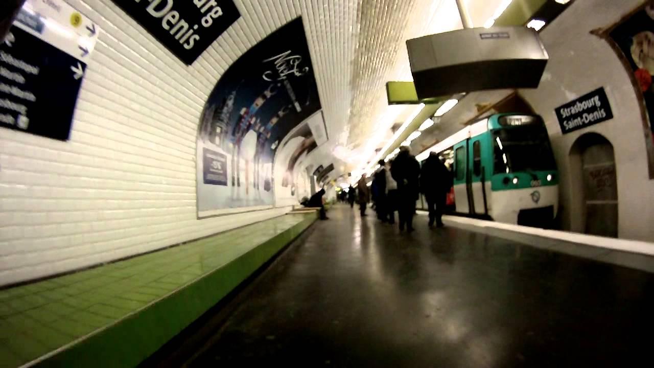 Metro ligne 8 strasbourg saint denis paris youtube - Lidl strasbourg saint denis ...