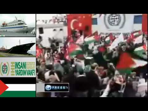 Turkish aid ships set sail for Gaza | اسطول الحرية لغزة