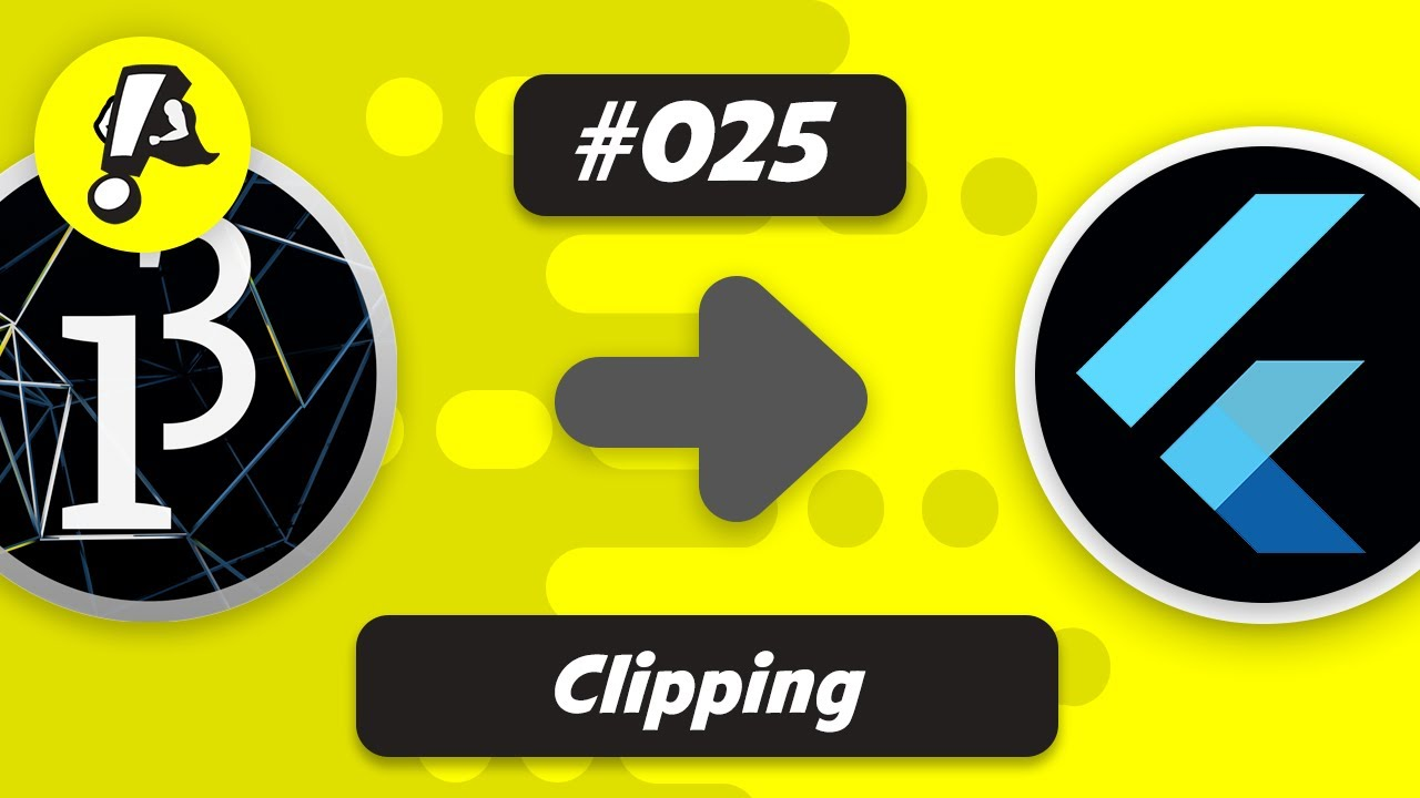 Flutter Processing - Clipping | Ep. 025