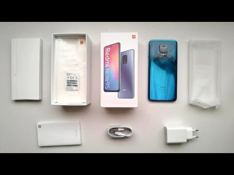 Redmi Note 9S: Unboxing & Camera Test | Aurora Blue | TheAgusCTS