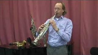 1 sopranino sax & 3 soprano saxophones tested