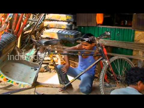 Cycle Shop in Agartala, Tripura