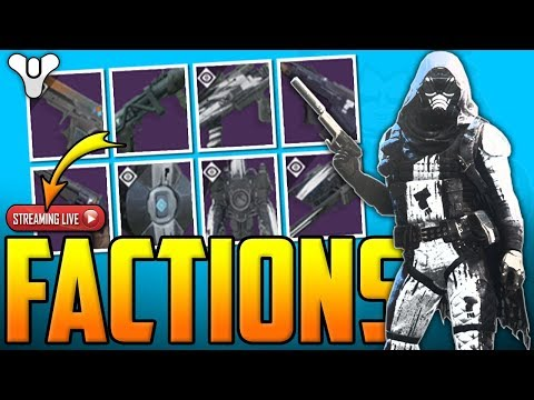 Destiny 2 - How To Get Easy FACTION TOKENS & ORNAMENTS - (Faction Rallies Live)