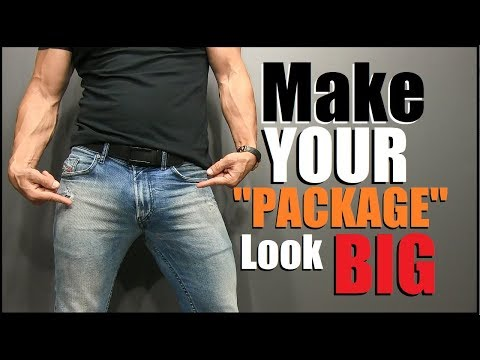 """5 Tips To Make Your """"Package"""" Look BIGGER! (Works 100%)"""