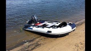 Лодочный мотор Yamaha 9.9 и лодка Stormline 340 airdeck standart