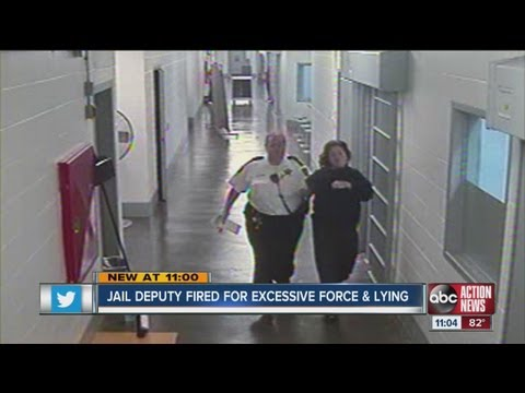 Pinellas County jail deputy fired for slapping inmate and lying