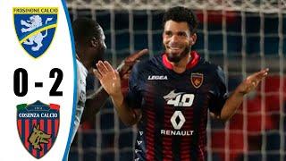 Frosinone vs Cosenza 0-2 All Goals & Highlights 2020 HD
