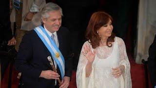 La asunción de Alberto Fernández en el Congreso de la Nación