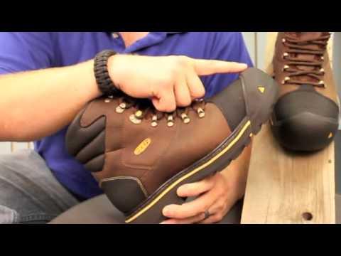 Keen Milwaukee Six Inch Work Boot