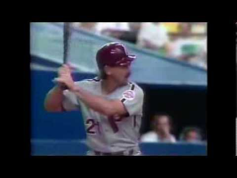 May 1991 - Phillies vs Expos (Tommy Greene No Hitter)  @mrodsports