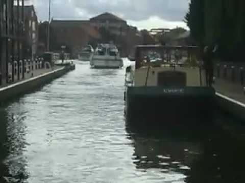 Newark Lock on the River Trent.