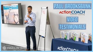 Paul Brooksbank - ActionCoach / NatWest Business (Event Testimonials)