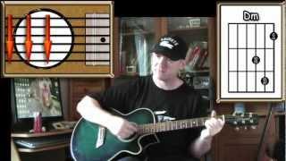 Rhinestone Cowboy - Glen Campbell - Acoustic Guitar lesson (easy-ish)