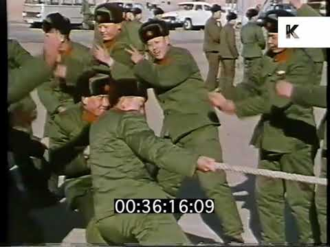 Download Tug Of War, Military Training, Early 1970s China