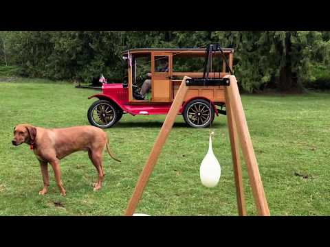 Puget Sound Model T Ford Club games - Spring 2017