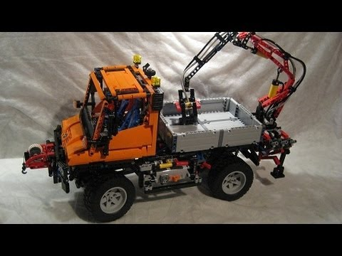 m4x 39 s creations building lego technic 8110 mercedes. Black Bedroom Furniture Sets. Home Design Ideas