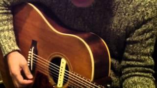 色んな人がカバーしているようですが、作曲者・原田真二さんのギター弾...