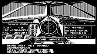 B-1 Nuclear Bomber for the Atari 8-bit family