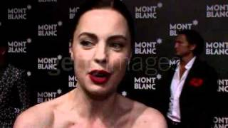Melissa George @ Montblanc Global Launch of the John Lennon Edition (12/09/2010)