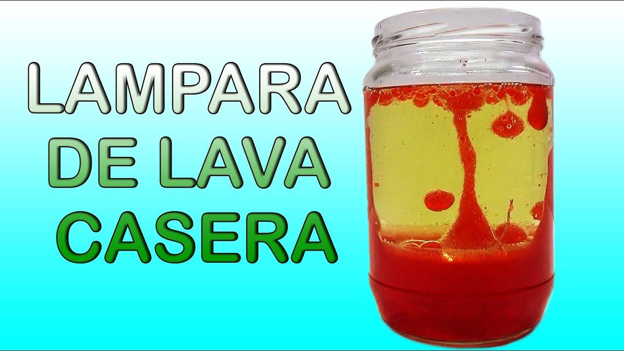 Como hacer una l mpara de lava casera f cil funkeep - Como hacer una lampara de mesa casera ...