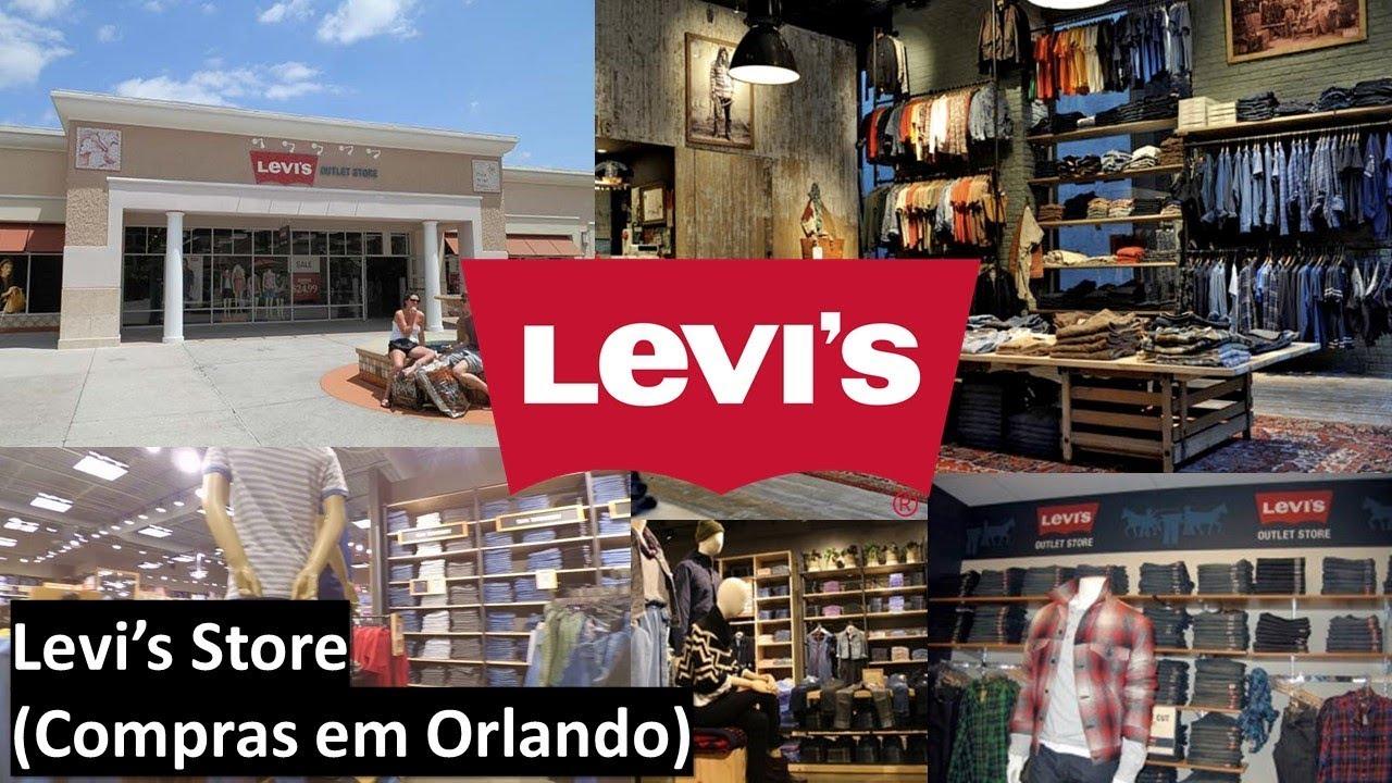 Levi s Store - Compras em Orlando - YouTube 642c3dbb0e8
