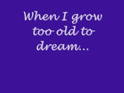 When I grow too old to dream - Linda Ronstadt
