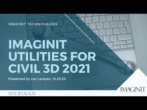 IMAGINiT Civil 3D Utilities 2021