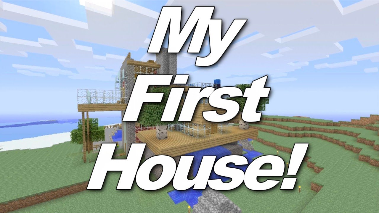 first minecraft house ive ever made youtube