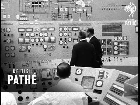 Duke Opens Heavy Water Reactor Aka Prince Philip Opens Winfrith Nuclear Reactor Station (1968)