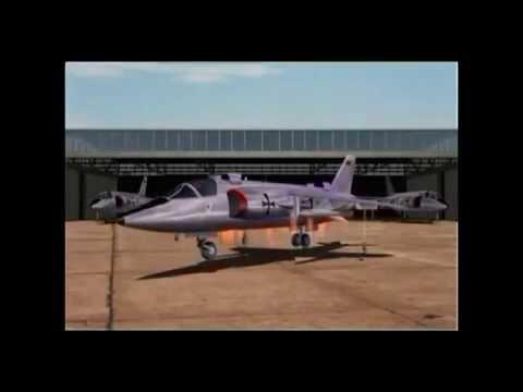 Luftwaffe VTOL jets - VJ101 and VAK191