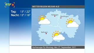 RTF.1-Wetter 26.09.2021