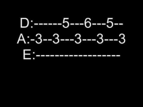 Sweet Dreams Marilyn Manson Guitar Tabs