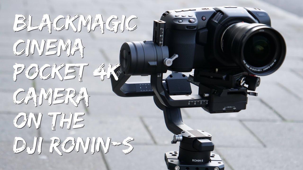 Blackmagic Pocket Cinema 4K Camera on the DJI Ronin-S - Revisited
