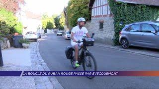 Yvelines | La boucle du ruban rouge passe par Evecquemont