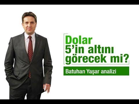 Batuhan Yaşar : Dolar 5'in altını görecek mi