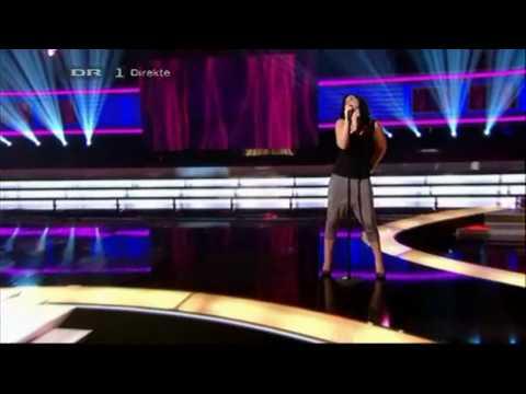 X Factor 2010 Denmark - Tine synger Pink