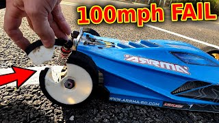CRASH! 100mph RC Car Fail