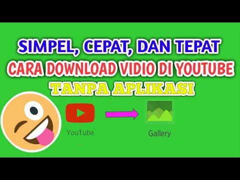 Cara Download Vidio Di Youtube