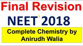 preparation for NEET Chemistry