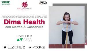 Percorso prevenzione e salute: Dima Health - Livello 2 - 2