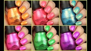 Sinful Colors Wild At Heart Collection | Live Application Review