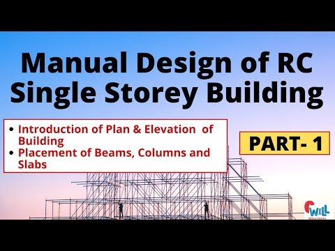 Manual Design of RC Building  Part-1 civil engineering