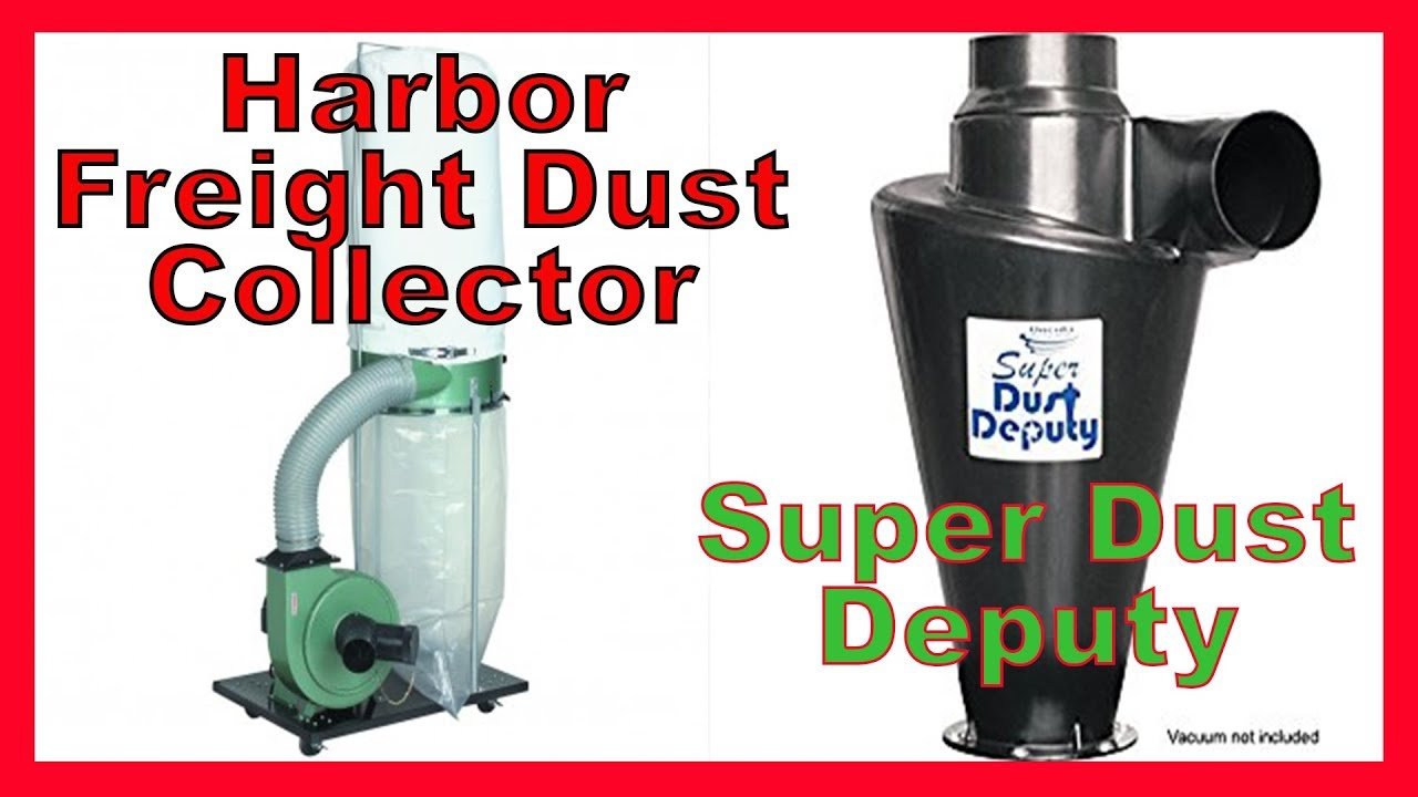 Harbor Freight 2 Stage Cyclone Dust Collector - Super Dust Deputy - Wynn  Filter