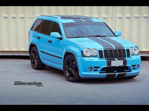 loudest jeep srt8 engine exhaust sounds brutal accelerations and rh youtube com