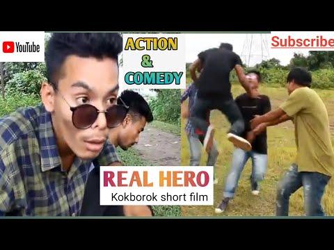 REAL HERO   Kokborok short film Action-Comedy 2018