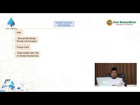 Syarat Sahnya Berqurban - Part 1   Ustadz. Dr. Didik Hariyanto Lc., M.P.I.