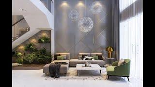 Modern Living Room Interior Design 😍 ! New Home Decor Ideas