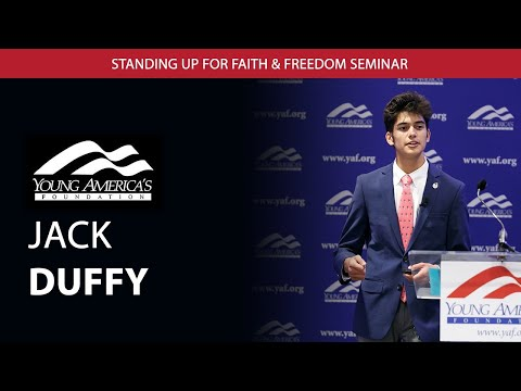 Jack Duffy, Activist, Young Americans for Freedom