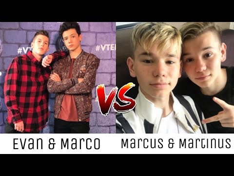 Evan et Marco - Tomber Amoureux VS Marcus & Martinus - Make You Believe In Love ~ Song Battle