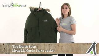 The North Face Mens McMurdo Parka Jacket - www.simplyhike.co.uk